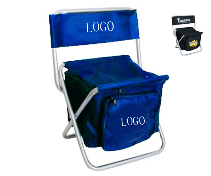 Folding Chair with Cooler Bag a2apromo